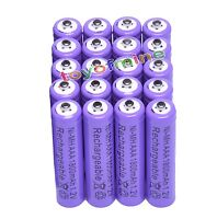 20x AAA 1800mAh 3A 1.2 V Ni-MH Purple Rechargeable Battery Cell for MP3 RC Toys