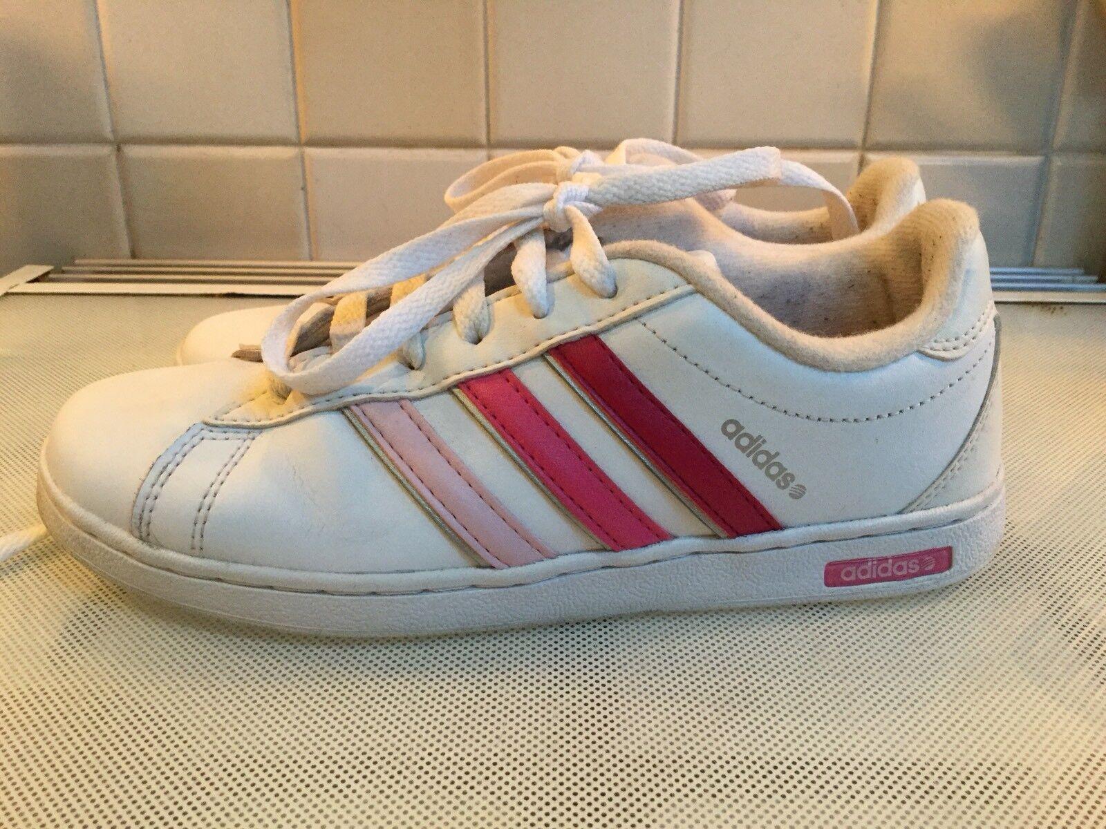Adidas duo formatori bianco con strisce rosa. | Forte calore