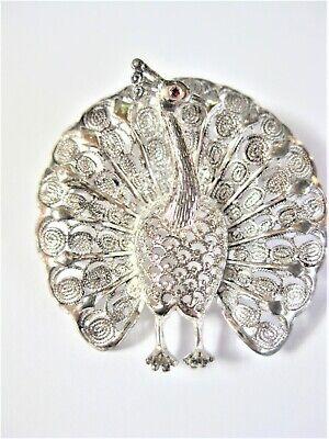 Antike Brosche Silber 800, 7,19 G