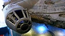 Star Wars Millennium Falcon FULL COCKPIT Version Studio Scale 72cm + LED Lights