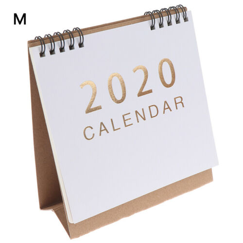 2019-2020Desk-Top Flip Calendrier Mois Pour afficher Stand Up Off RK