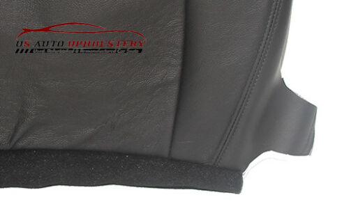 2012 Chevy Tahoe LT 2WD 4X4 Passenger Side Bottom Leather Seat Cover Black