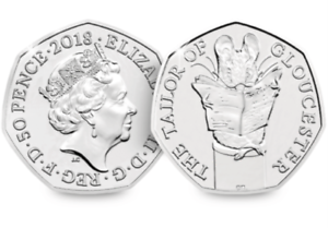 2018-UK-Tailor-of-Gloucester-Uncirculated-50p-Fifty-Pence-Official-Royal-Mint