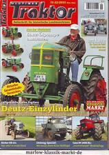 Oldtimer Traktor 11-12/11 Deutz Einzylinder/Eicher ED 13/Case IH 1455 XL/Fiat DT