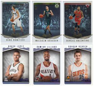 2016-17-Panini-Studio-Basketball-Base-SP-RC-Cards-Choose-Card-039-s-1-200
