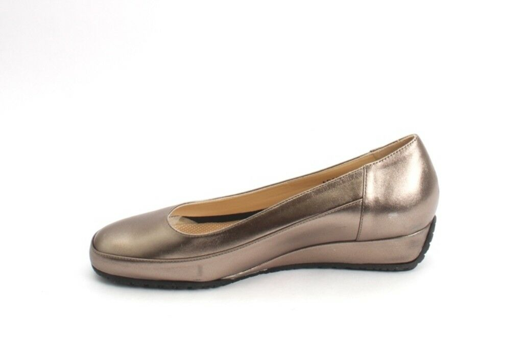 Luca Luca Luca Grossi 6060 Comfort Bronze Leather Wedge Pumps shoes 39   US 9 03eb52