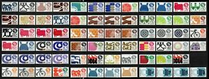 Mexico-Exporta-stamps-lot-71-pieces-mint-NH-postal-amp-air-post-combine-shipping