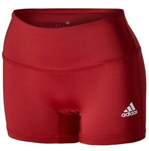 Tight 4 Volleyball Adidas donna Techfit da Women's Pantaloncini Techfit 4 Volleyball Shorts aderenti Adidas wOqvfnT