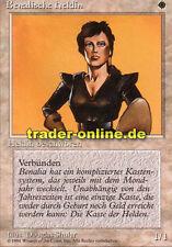2x Benalische Heldin (Benalish Hero) Magic limited black bordered german beta fb