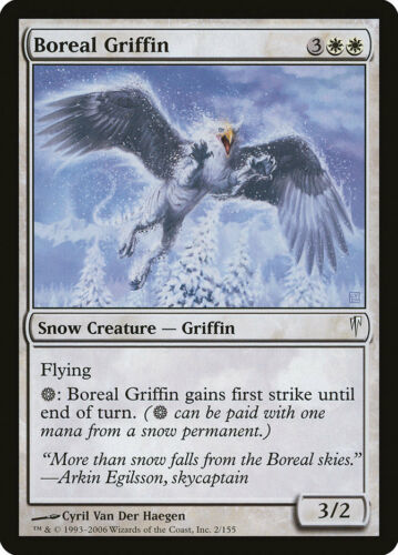 4x Boreal Griffin Coldsnap Unplayed Near Mint CSP