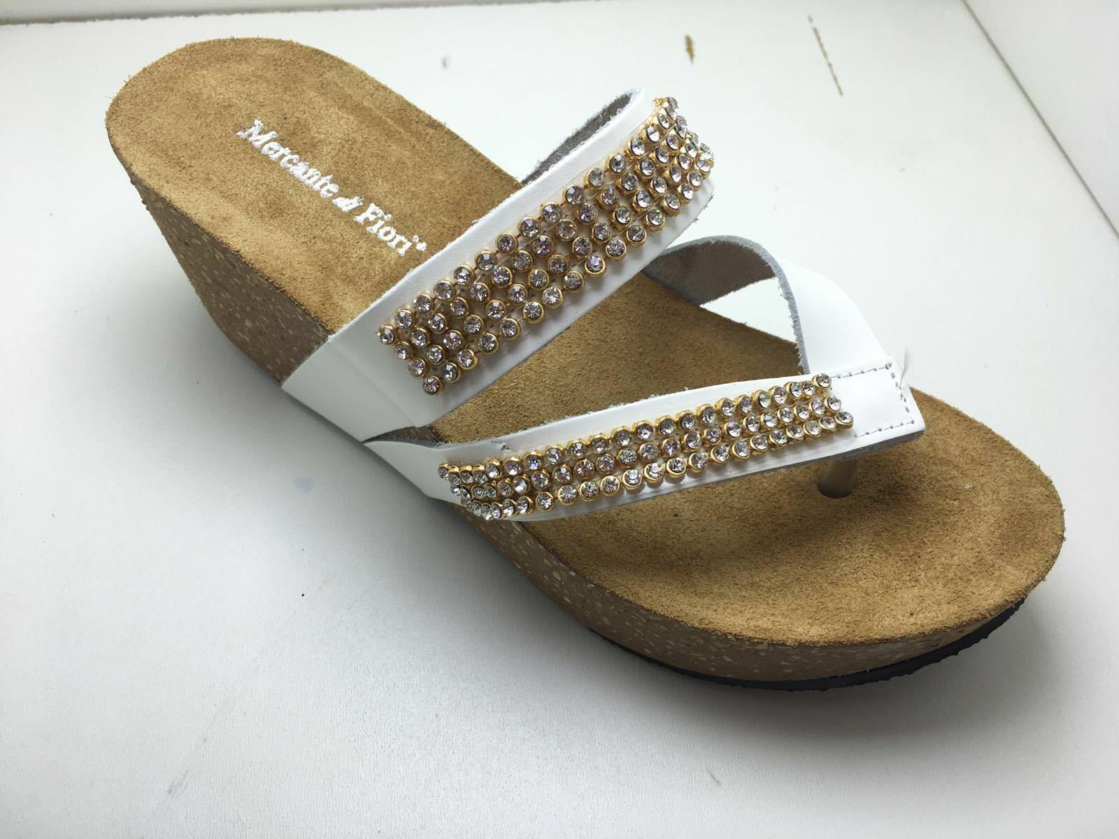 Scarpe Sandalo TP621 Mercante di Fiori TP621 Sandalo Infradito Donne Bianco TP621   a2b1b8