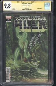 Immortal-Hulk-2-CGC-SS-9-8-1st-Doctor-Frye-Signed-by-Alex-Ross
