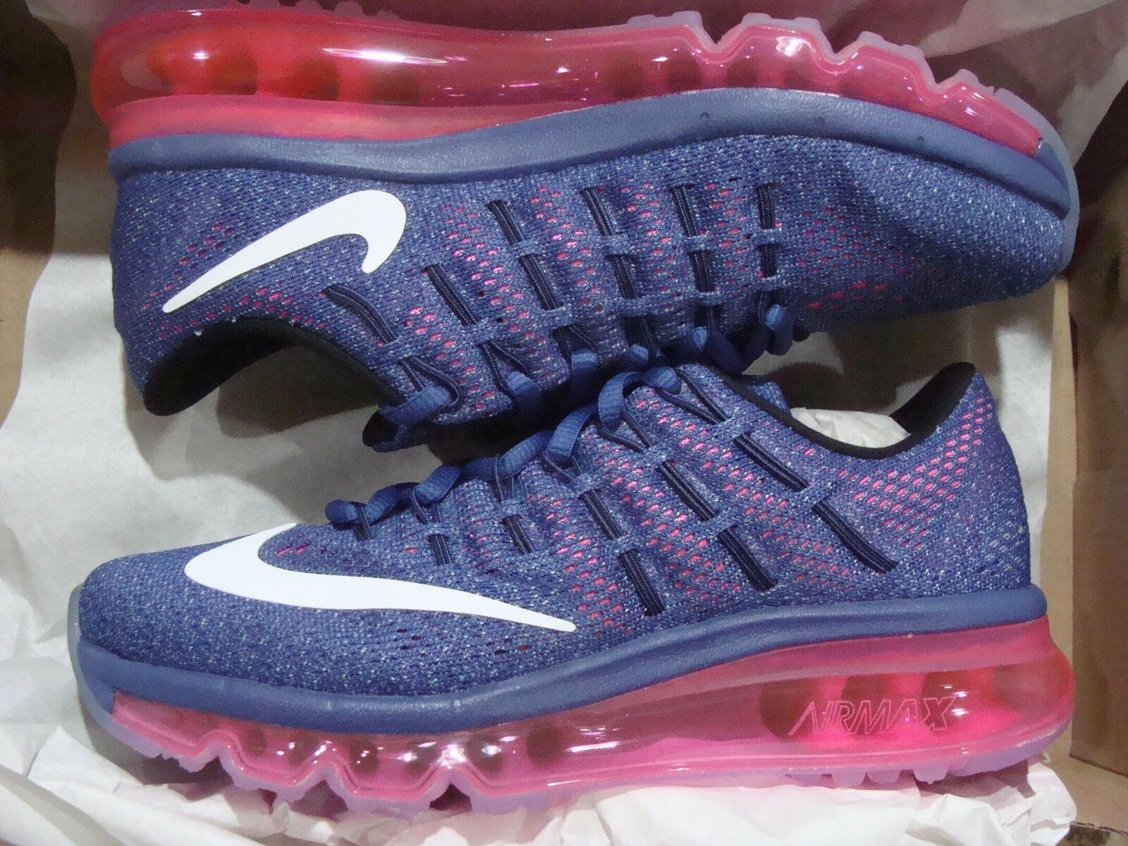 WOMEN's NIKE AIR MAX 2016 (806772 502) SIZE 5.510.5