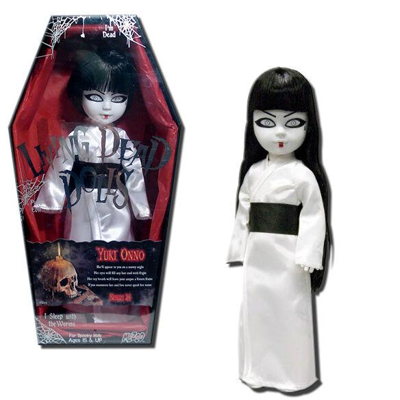 Living Dead Dolls Serie 24 Yuki Onno 10 Pulgadas Muñeca De Terror-Mezco Toyz