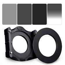 ZOMEI 150*100mm ND2+ND4+ND8 Square LEE filter kit+Holder+77mm Ring for Cokin Z