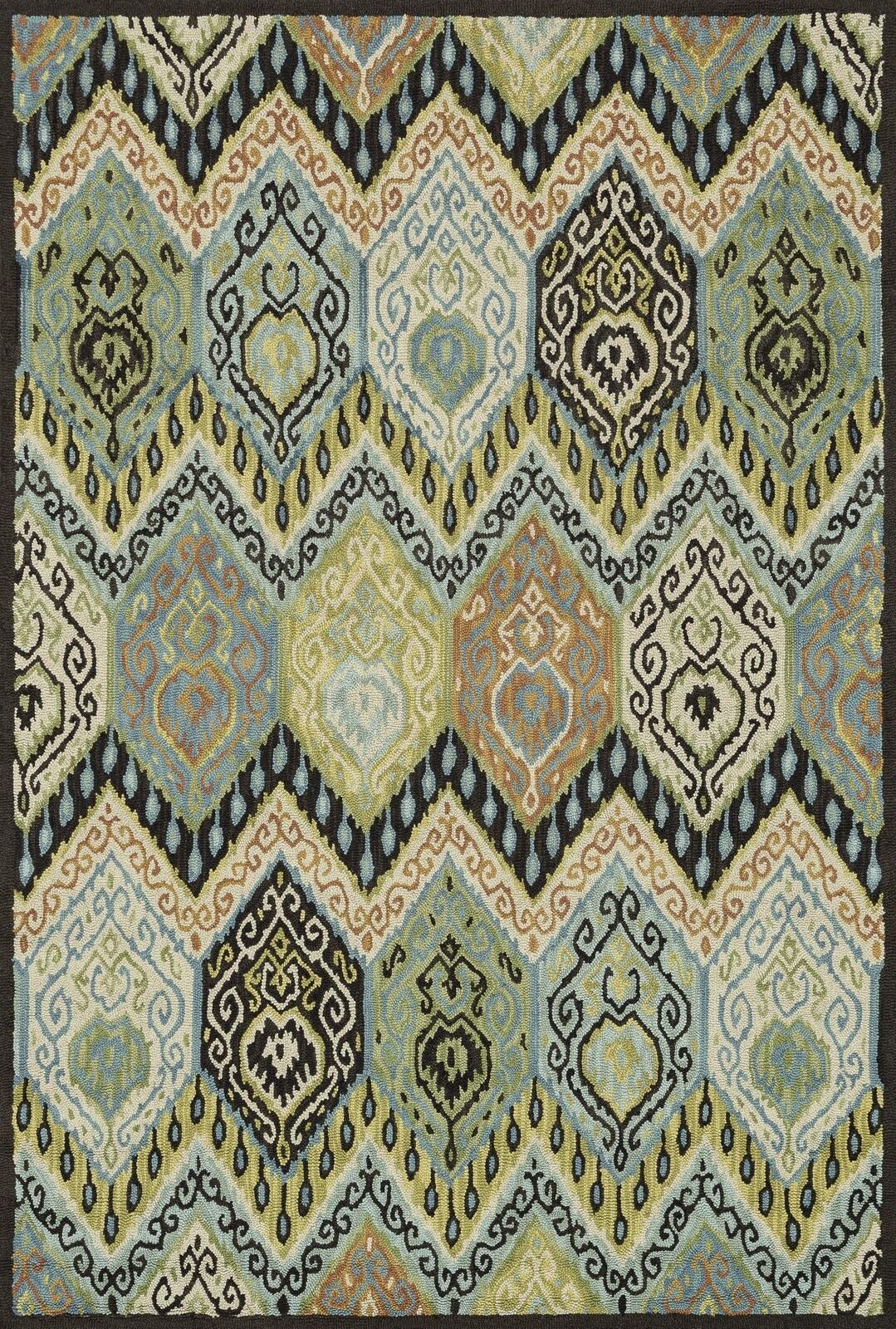 9'x13' Loloi Rug Mayfield Mayfield Mayfield Wool Loop Multi Farbe Hand Hooked Transitional MF-09 ed73fd