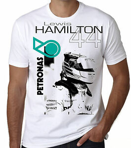 lewis hamilton t shirt 2018 formula 1 retro racing top s. Black Bedroom Furniture Sets. Home Design Ideas