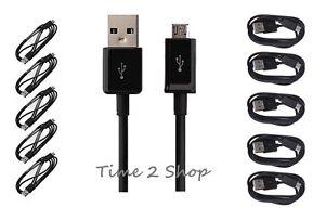 Pack-de-5-USB-2-0-Vers-Micro-B-Cable-De-Synchronisation-De-Donnees-Et-Chargeur