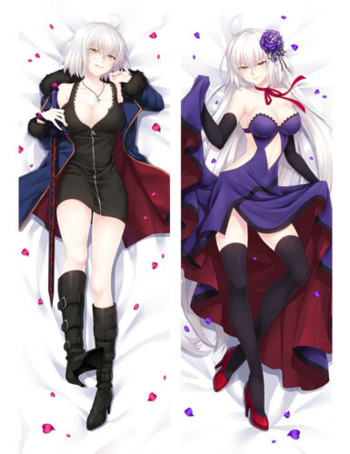 Fate Grand Order Jeanne d/'Arc Alter Dakimakura Huging Body PillowCase Cover B102