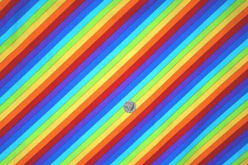 Little Noah Rainbow fabric and animals fq 50x56 cm Nutex 80190-107 100/% Cotton