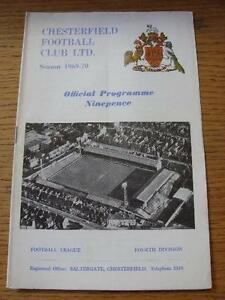 30081969 Chesterfield v Hartlepool United  Folded Item In very good conditi - Birmingham, United Kingdom - 30081969 Chesterfield v Hartlepool United  Folded Item In very good conditi - Birmingham, United Kingdom