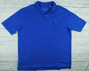TOMMY-BAHAMA-Men-039-s-Soft-Cotton-Polo-Blue-Shirt-Size-XL