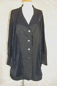 Manteau noir taille 50