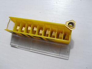 10 Kennametal Carbide Tips Tpgx 1303 Zprgd Kc7015 (tpgx 1303 Tpgx1303 1303 Zprgd-afficher Le Titre D'origine