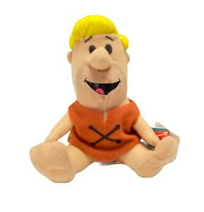 Hunter-Leisure-The-Flintstones-Barney-Rubble-Soft-Plush-Stuffed-Toy-15cm-Seated