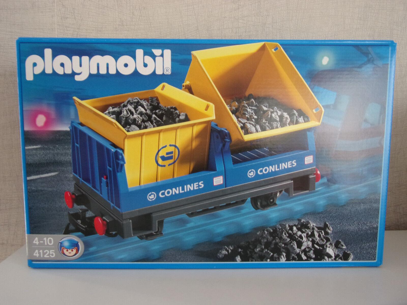 Playmobil 4125 Kipplorenwaggon - Neu & OVP