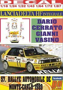 DECAL-LANCIA-DELTA-INTEGRALE-D-CERRATO-R-MONTECARLO-1989-7th-12