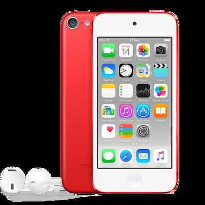 2015 Apple iPod Touch 6th GEN (32GB) RED *BRAND NEW!* AU STOCK + Warranty!
