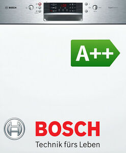 bosch einbau sp lmaschine 60cm geschirrsp ler geschirrsp lmaschine a 46 db ebay. Black Bedroom Furniture Sets. Home Design Ideas