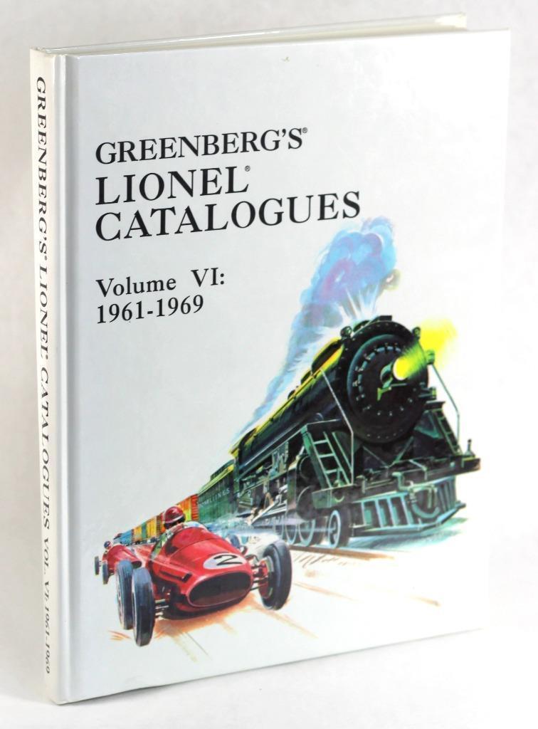 grönberg s Lionel Kataloger Vol VI 1961 -1969 Bruce grönberg Hardcover