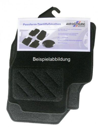 Nadelfilz-Fußmatten für Nissan Leaf ab Bj.2012