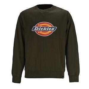Pullover Crewneck Sweat Oliv T Dickies shirt Dark Hs Sweatshirt wxpUFRyqIP