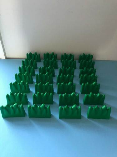 Lego Duplo Bricks Grass Green House Farm Zoo Forest Lot Set 28 Bricks