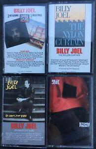 Billy-Joel-Piano-Man-Innocent-Nylon-Curtain-Storm-Front-Cassette-Tape-Set