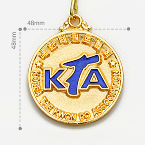 KTA Medals Gold Silver Bronze Korea Taekwondo Association Awards Ribbon TKD Gift