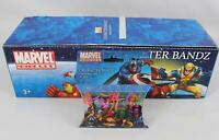 Character Bandz 2010 Marvel Universe, 1 Box Of 12 Packs (240 Pieces Total) -