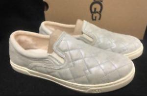 63c21f99aa1 UGG Australia Fierce Deco Quilt Stardust Silver Sneaker Women's US ...