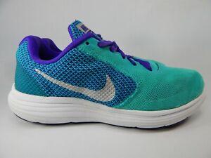 Nike-Revolution-3-Misura-US-8-M-B-Eu-39-Scarpe-da-Corsa-Donna-Verde-819303-301
