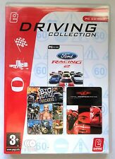 DRIVING COLLECTION PC 3 GAME SET TOTAL IMMERSION RACING, FORD 2, BIG MUTHA new !