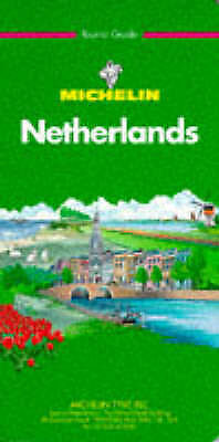 """AS NEW"" Michelin Green Guide: Netherlands (Michelin Green Tourist Guides), Mich"