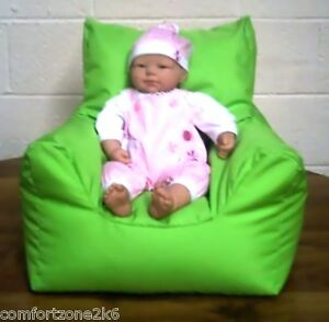 Image Is Loading SMALL BABY BEAN BAG ARMCHAIR BEANBAG RELAXER HIGH