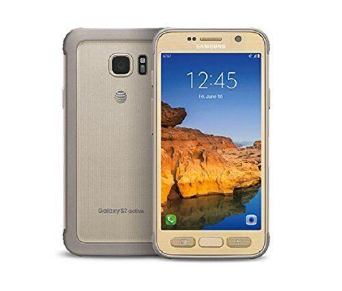 Samsung Galaxy S7 Active SM-G891A 32GB Sandy Gold AT&T Unlocked Smartphone