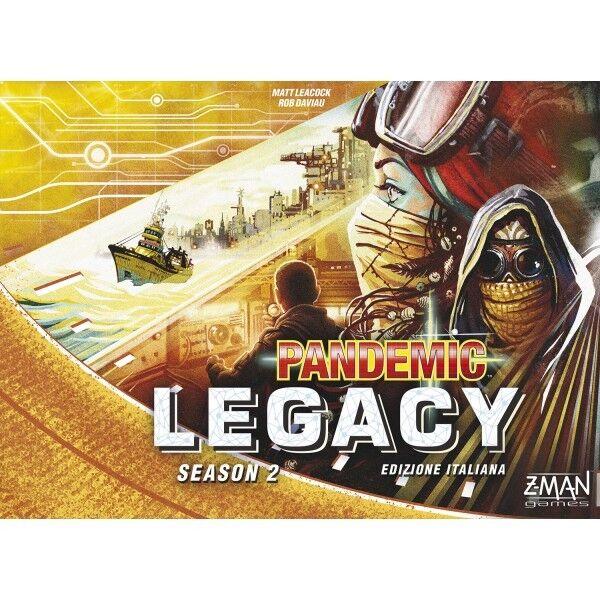 Pandemic Legacy Season 2, Gioco da Tavolo, Nuovo by rosso Glove, Scatola Gialla