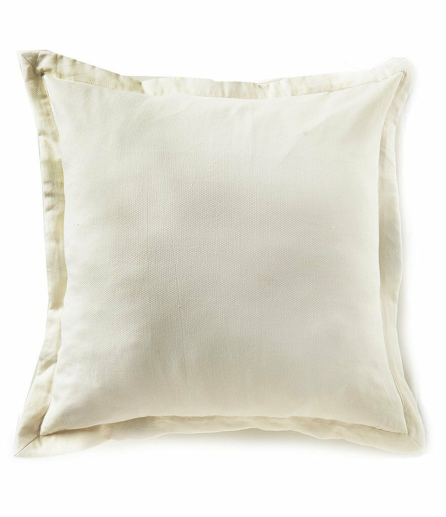 Southern Living Heirloom Piqué Quilted One Euro Sham Ivory 26 X 26