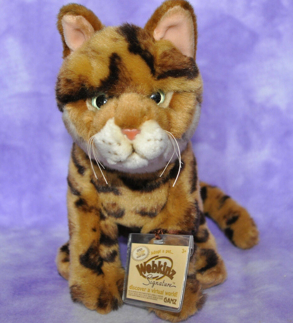 Webkinz Signature Rare Bengal Cat Cat Cat Brand New With Tag Wks1065