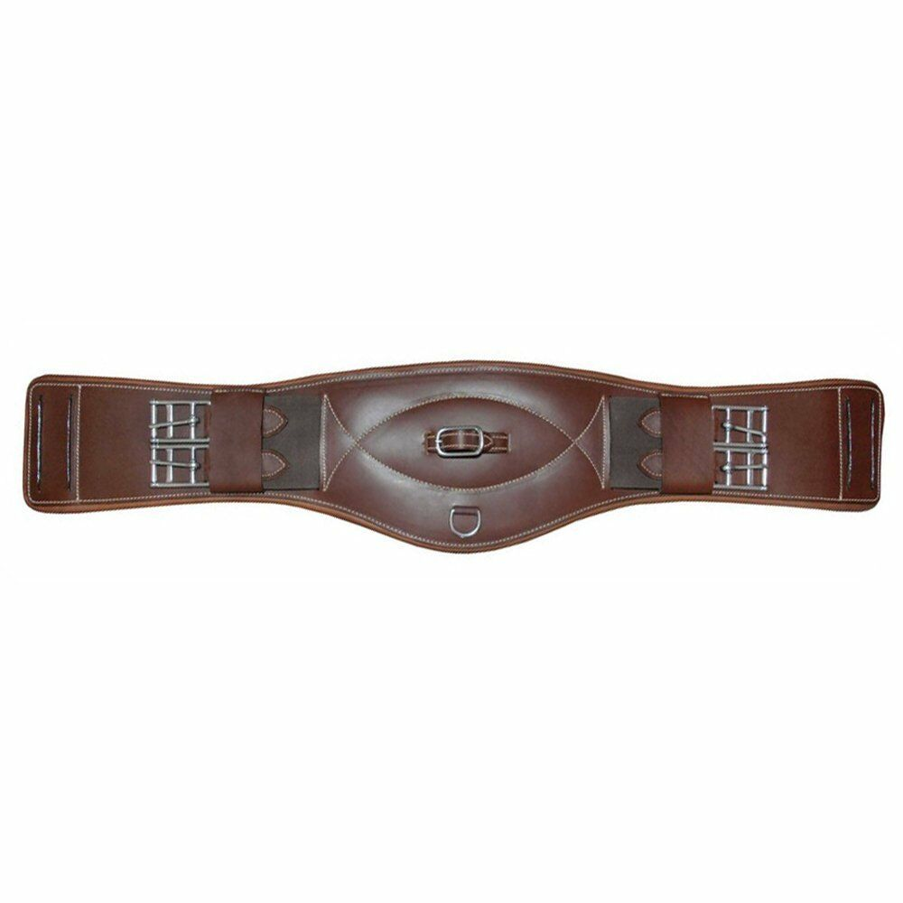 Mark Todd Leather Short Event Girth - Elastic on both ends